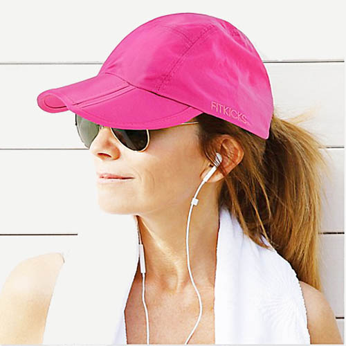 fbee67ff2 FITKICKS Crush Resistant Foldable Cap - 50+UPV - 4 Colors - Unisex