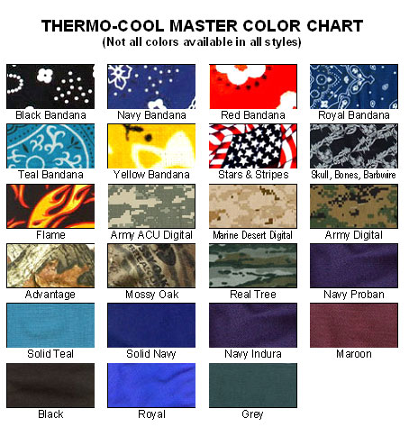 thermo cool cooling neck wrap solids prints